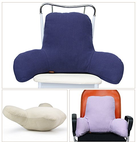 Long Back Reading Pillow Removable Cotton Cover Bed Rest