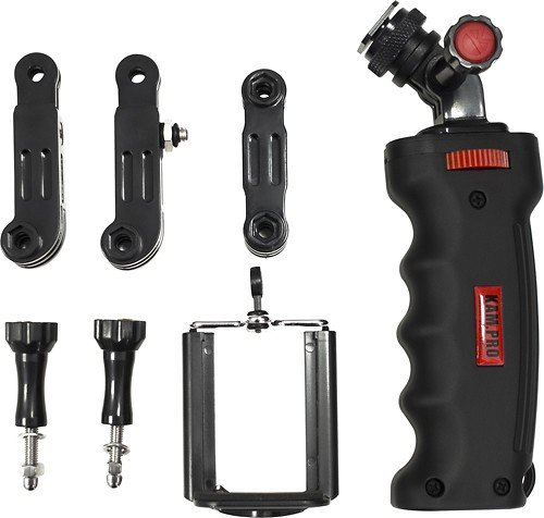 Ergo Ez Grip - Kamerar KamPro Ergo Hand Grip Handle Kit For GoPro Hero Cameras 1 2 3 3+