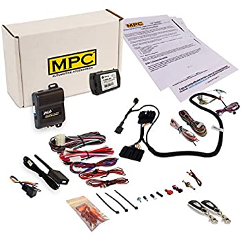 mpc complete oem remote activated remote start kit 2007 2010 ford rh transchange com 2007 ford edge remote start install Python Remote Start Installation Guide