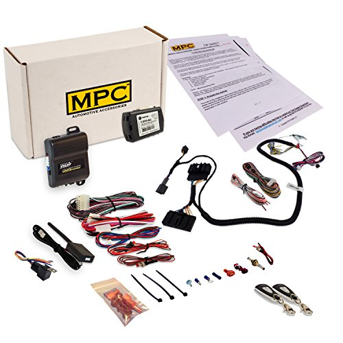 Complete 1-Button Remote Start Kit Compatible with Select Ford & Lincoln Vehicles [2011 - 2014]. Kit Also Includes a T-Harness To Simplify Installation. Plus US Tech Support by MPC (Image #5)