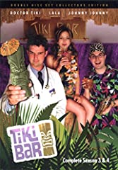 "Get this compilation dvd produced by the wacky folks at Tiki Bar TV, ""Complete Season 3 & 4"" with the cast ""solving the world's problems two cocktails at a time""! Featuring 20 past episodes (and science!) as well as hilarious behind-the-s..."
