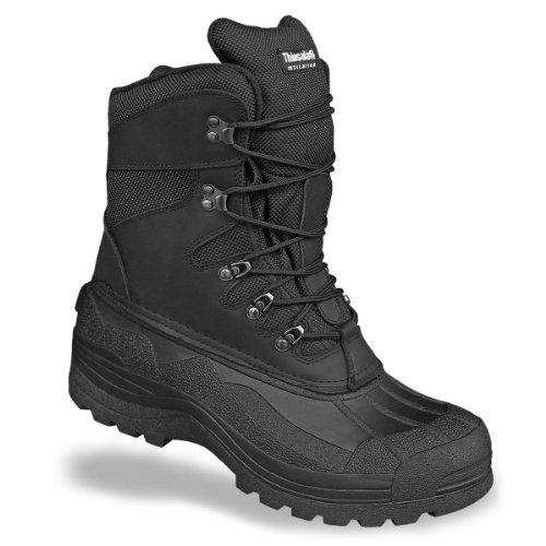 Mil-Tec - botas de nieve hombre, color negro, talla 39.5