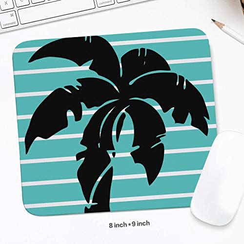 (Mousepad Anti-Skid Mouse Mat Laptop Hawaii Palm trees5 Printed Pad)