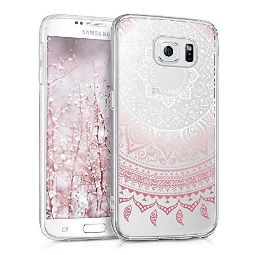 kwmobile Crystal Case Hülle für Samsung Galaxy S6 / S6 Duos - TPU Silikon Kunststoff Cover im Indische Sonne Design