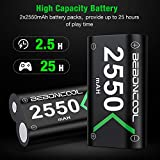 Xbox One Controller Battery Pack, 2x2550mAh Xbox