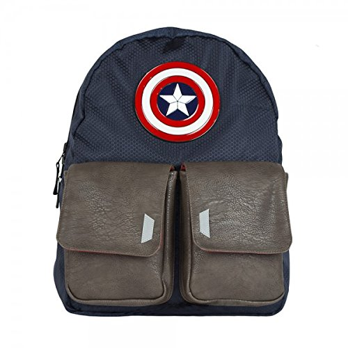 Bio World Avengers Captain America Flip Backpack16