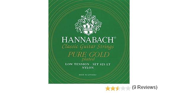 Hannabach 652647.0 - Cuerdas para guitarra clásica: Amazon.es ...