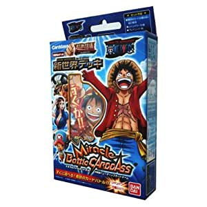 Miracle Battle Carddass [ONE PIECE - New World] OPS04 Pre-Build Deck (japan import)