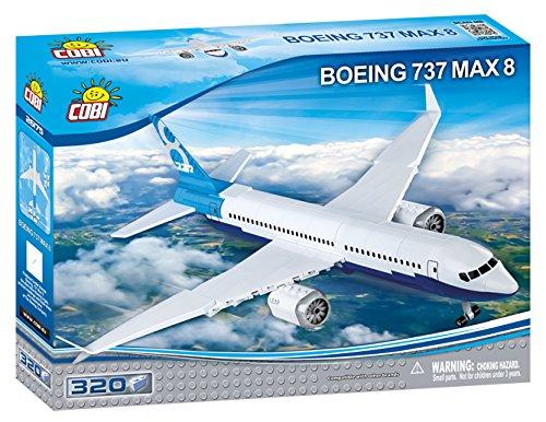 COBI Boeing 737 Max 8 Plane by COBI