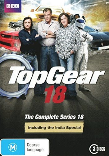 top gear series 18 including the india special non usa format pal region 4 import. Black Bedroom Furniture Sets. Home Design Ideas