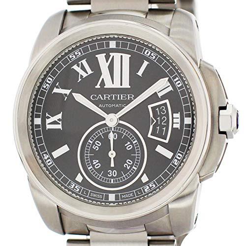 - Cartier Calibre de Cartier Automatic-self-Wind Male Watch W7100016 (Certified Pre-Owned)