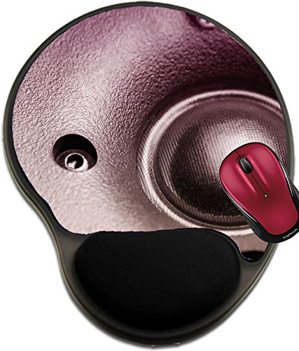 (Liili Mousepad wrist protected Mouse Pads/Mat with wrist support design Studio speaker detail Focused on the silk tweeter Photo 3024925)