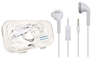 Earphone with 3.5mm jack Compatible For All Smartphones Wired Headsets at amazon