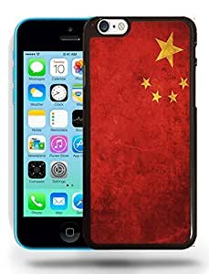 China National Vintage Flag Phone Case Cover Designs for iPhone 5C