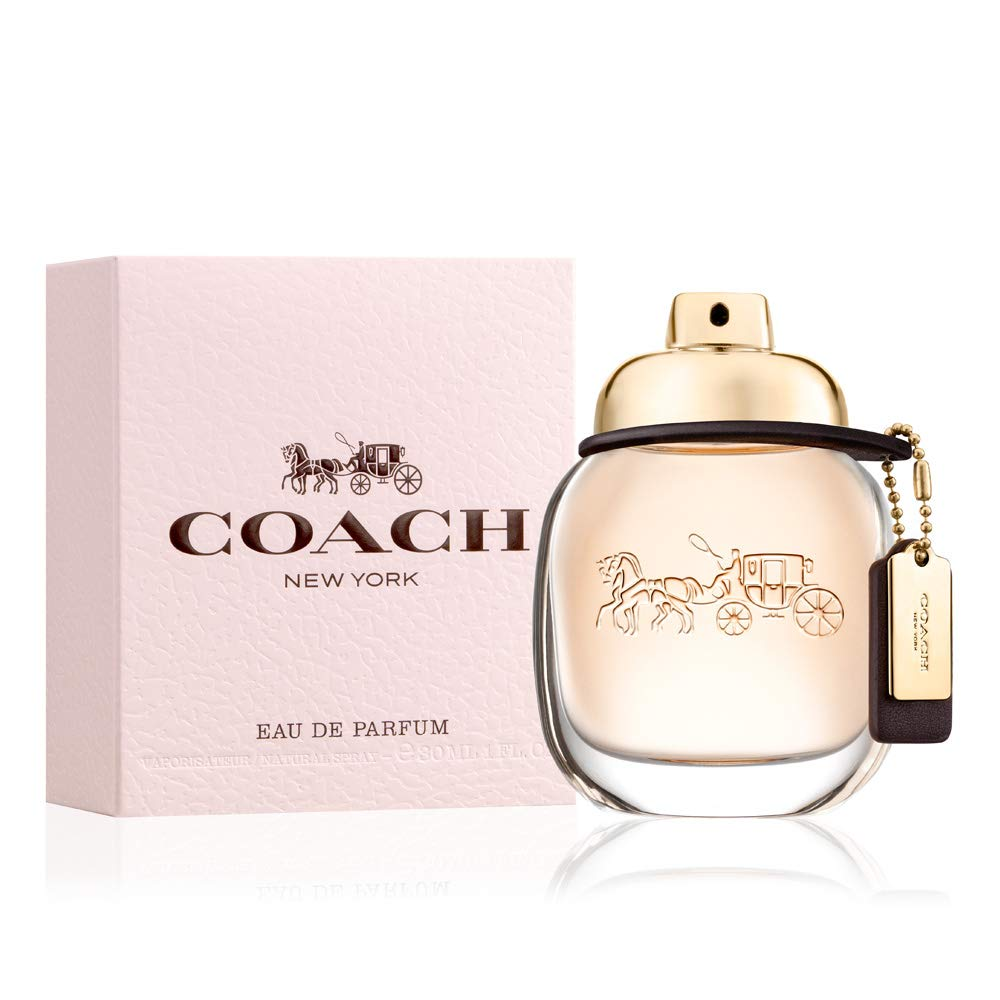 Coach NEW YORK Eau De Parfum Spray FOR WOMEN, 1.0 Fl Oz