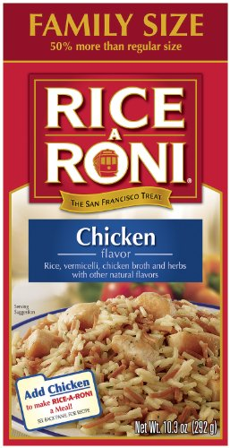 Rice A Roni Chicken, Family Size, 13.8 oz