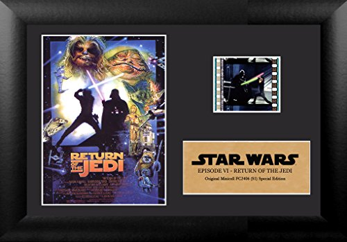 Collectable Framed (Trend Setters Star Wars Return of Jedi Minicell Film Cell Frame)