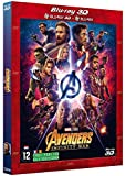 Avengers Infinity War : 3D and 2D Blu-Ray Combo -  Rated PG-13