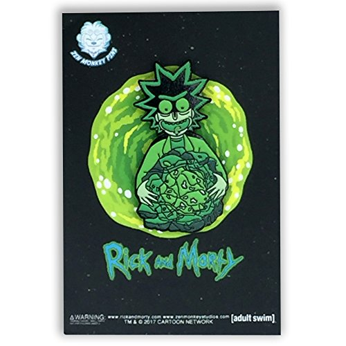 Rick and Morty - Rick's Isotope Glow In The Dark 1.65