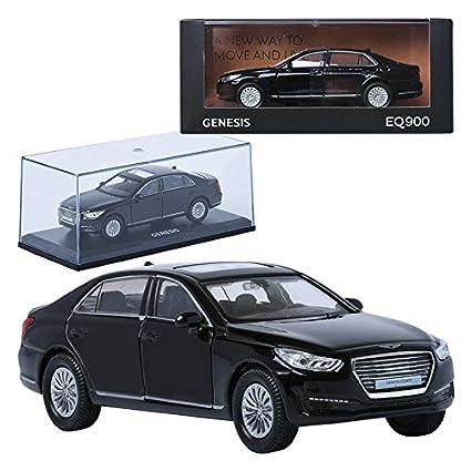 amazon com treforze 1 38 hyundai genesis eq900 black display mini