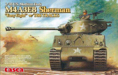 (1/35 Scale U.S Medium Tank M4A3E8 Sherman