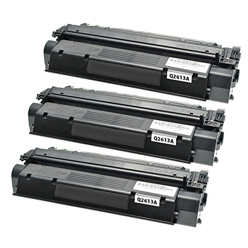 ADE Products Premium Compatible Replacements for 3 HP 13A Black Toner, HP Q2613A for HP LaserJet 1300, LaserJet 1300n, LaserJet 1300xi Printers