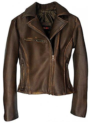 Distressed Lambskin Leather - 9