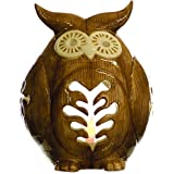 FESTIVE PRODUCTIONS 689538 15cm Owl Tealight Holder