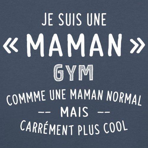 une maman normal gym - Femme T-Shirt - Bleu Marine - XXL