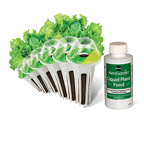 (AeroGarden Salad Greens Mix Seed Pod Kit (6-Pod) )