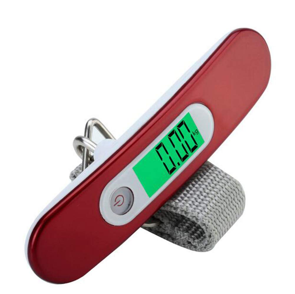 GXF Small Electronic Scale Mini Baggage Portable Portable Scale Home Travel Hanging Scale Backlit Liquid Crystal Display