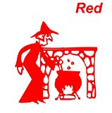 Red Seal cutting|Witch|Pot|Fireplace|The Witch