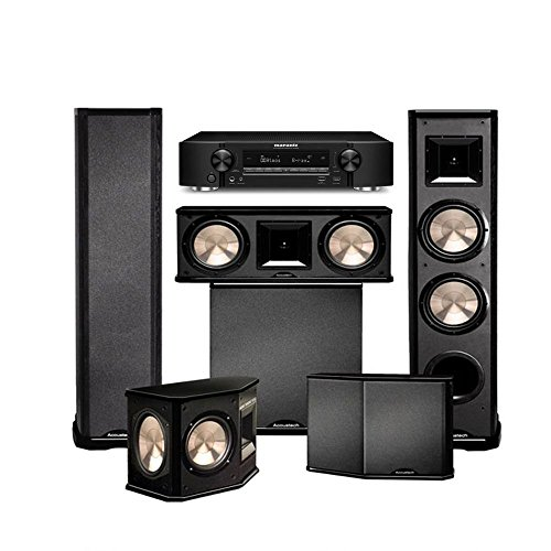 Marantz NR1606 with BIC Acoustech PL-89II Theater System and ()