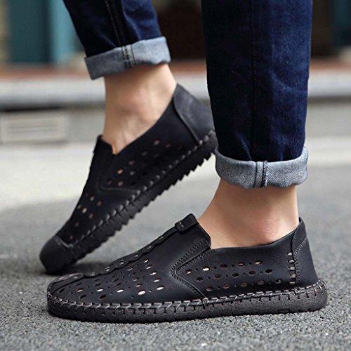 ZXCV Zapatos al aire libre Zapatos ocasionales para hombre, zapatos ocasionales respirables, zapatos de la tendencia S