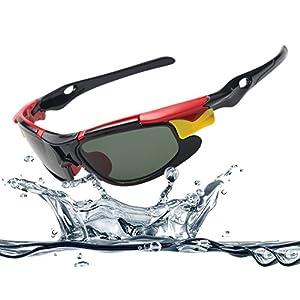 Maziort Kids UV Protection Cycling Polarized Sports Sunglasses For Kids Boys Girls