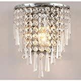 Jorunhe Modern Semi Circular Crystal Wall light Lights for Home Review