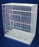 Brand New Lot of 4 Aviary Bird Sugar Glider Ferret Cage 30x18x36WHT, My Pet Supplies
