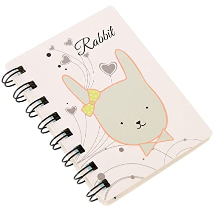 Amazon com: Aobiny Notebook, Cute Daily Weekly Planner Zoo Spiral