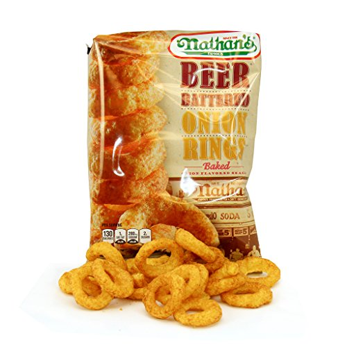 Nathans Snack - Nathan's Beer Battered Onion Ring 2 oz., 6 per case