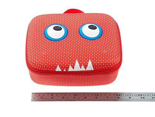 ZIPIT Beast Box Jumbo Storage Case, Red Photo #6