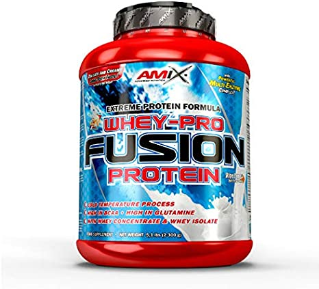 AMIX Whey Pure Fusion - 2,3 Kg Cream cookies