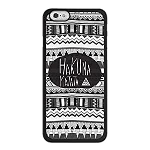 Tribal Hakuna Matata Aztec ~ Personalized Custom Beauty Diy Smooth Surface Durable Tpu Rubber Silicone Case Cover Skin Unique iphone 6 Case ~ (iPhone 6, 4.7