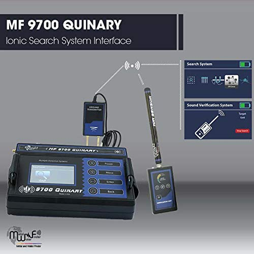 Amazon.com: MWF MF 9700 Quinary - Detector de metales de ...