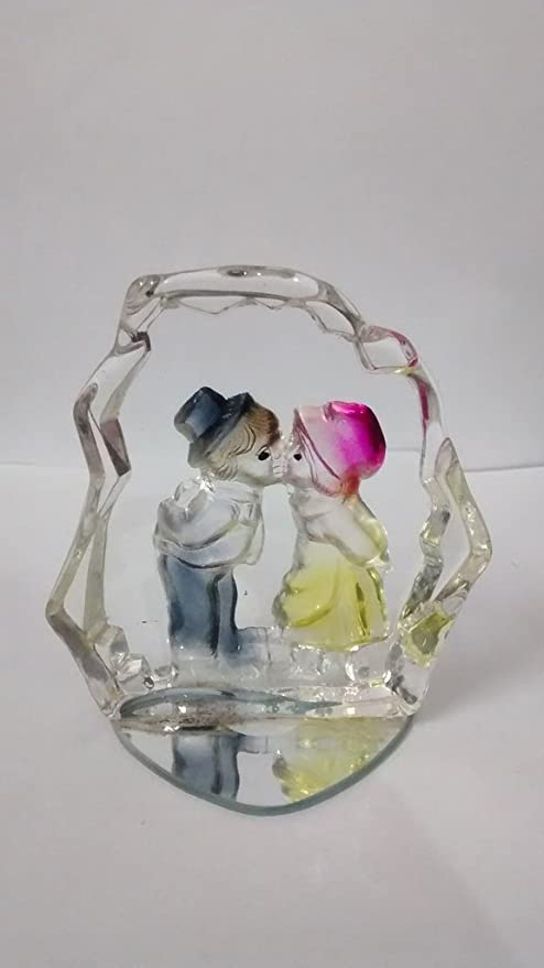 Buy Touch India Valentine Romantic Love Couple Statue Home
