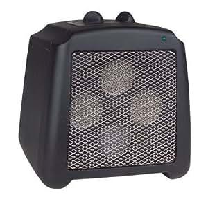 Pelonis Ceramic Disc Heater Ceramic Disc 1500 W 7 In. H X 6.5 In. W X 7 In. D Black,Cool Touch