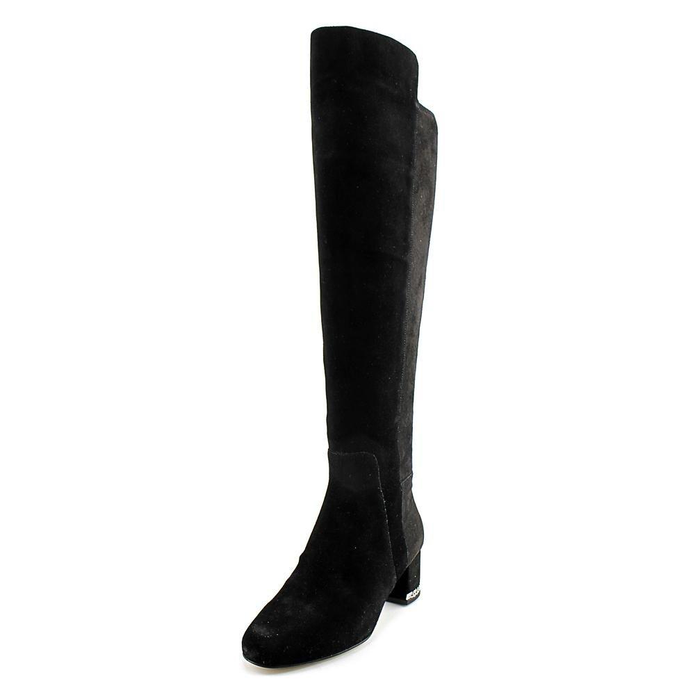 MICHAEL Michael Kors Women's Sabrina Over The Knee Boots, Black, 5 B(M) US by MICHAEL Michael Kors