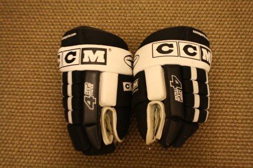 CCM 452 Tacks Hockey Gloves Black/White