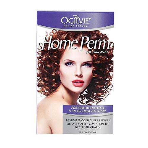 Ogilvie Salon Styles Professional Perm for Color Treated, Thin or Delicated Hair (Best Perm For Fine Thin Hair)