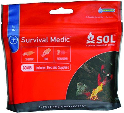 S.O.L Survive Outdoors Longer Survival Medic Kit (Pack Survival Pocket)