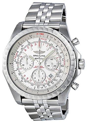 Breitling BTA2536513-G675SS Bentley - Reloj de pulsera para hombre, analógico, color plateado: Breitling: Amazon.es: Relojes
